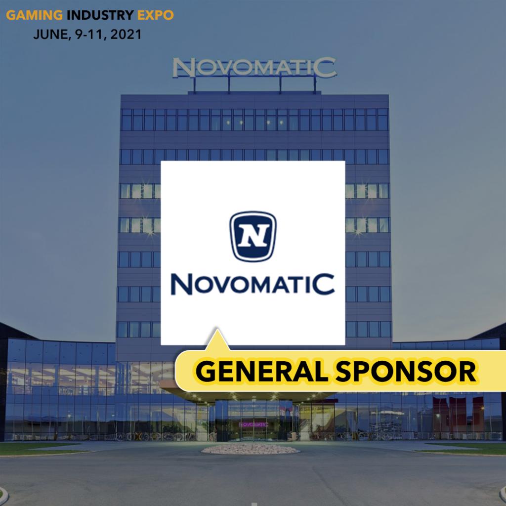 Novomatic - general sponsor of Gaming Industry Exhibition